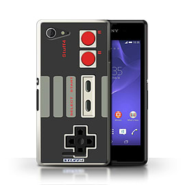 STUFF4 Phone Case/Cover for Sony Xperia E3/Nintendo Classic Design/Games Console Mobile phones