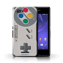 STUFF4 Phone Case/Cover for Sony Xperia E3/Super Nintendo Design/Games Console Mobile phones