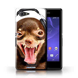 STUFF4 Phone Case/Cover for Sony Xperia E3/Ridiculous Dog Design/Funny Animals Mobile phones