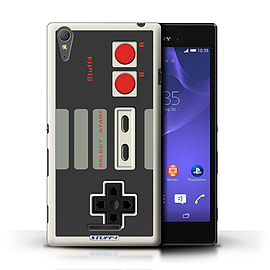 STUFF4 Phone Case/Cover for Sony Xperia T3/Nintendo Classic Design/Games Console Mobile phones