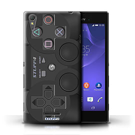 STUFF4 Phone Case/Cover for Sony Xperia T3/Playstation PS3 Design/Games Console Mobile phones