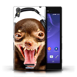 STUFF4 Phone Case/Cover for Sony Xperia T3/Ridiculous Dog Design/Funny Animals Mobile phones