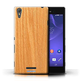 STUFF4 Phone Case/Cover for Sony Xperia T3/Pine Design/Wood Grain Effect/Pattern Mobile phones