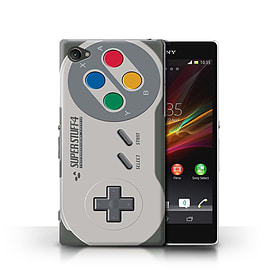 STUFF4 Phone Case/Cover for Sony Xperia Z1 Compact/Super Nintendo Design/Games Console Mobile phones
