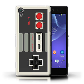 STUFF4 Phone Case/Cover for Sony Xperia Z2/Nintendo Classic Design/Games Console Mobile phones