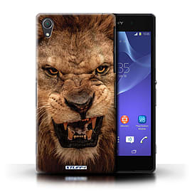 STUFF4 Phone Case/Cover for Sony Xperia Z2/Lion Design/Wildlife Animals Mobile phones