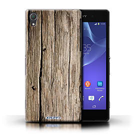 STUFF4 Phone Case/Cover for Sony Xperia Z2/Driftwood Design/Wood Grain Effect/Pattern Mobile phones