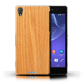 STUFF4 Phone Case/Cover for Sony Xperia Z2/Pine Design/Wood Grain Effect/Pattern Mobile phones