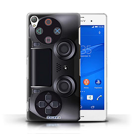 STUFF4 Phone Case/Cover for Sony Xperia Z3/Playstation PS4 Design/Games Console Mobile phones