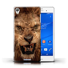 STUFF4 Phone Case/Cover for Sony Xperia Z3/Lion Design/Wildlife Animals Mobile phones
