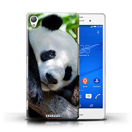 STUFF4 Phone Case/Cover for Sony Xperia Z3/Panda Bear Design/Wildlife Animals Mobile phones