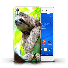 STUFF4 Phone Case/Cover for Sony Xperia Z3/Sloth Design/Wildlife Animals Mobile phones