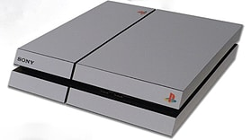 PS4 Skin EXCLUSIVE Anniversary Style Grey Skin with 2 Controller Skins Playstation 4 screen shot 2