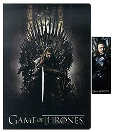 Game Of Thrones Notebook And Magnetic Bookmark Pre School Toys