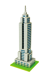 Nanoblock Empire State Building Blocks and Bricks