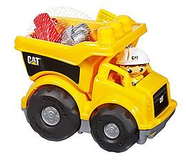 Mega Bloks CAT Lil Dump Truck Blocks and Bricks