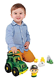 Mega Bloks John Deere Tractor screen shot 4