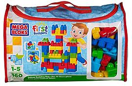 Mega Bloks Deluxe Building Bag Blocks and Bricks