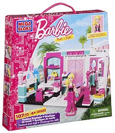 Mega Bloks - Barbie Build 'n Style Fashion Boutique - Toy Playset Blocks and Bricks
