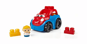 Mega Bloks First Builders Ricky Race Car screen shot 3