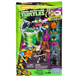 Mega Bloks Teenage Mutant Ninja Turtles Baxter Mutation Lab Playset Blocks and Bricks