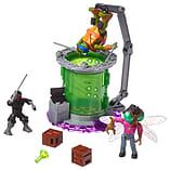 Mega Bloks Teenage Mutant Ninja Turtles Baxter Mutation Lab Playset screen shot 2