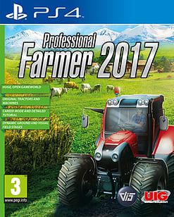 Professional Farmer 2017 PlayStation 4 Cover Art