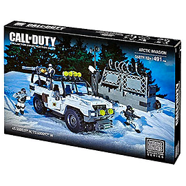 Mega Bloks Call of Duty Arctic Invasion Building Set Blocks and Bricks