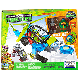 Mega Bloks Teenage Mutant Ninja Turtles Half-Shell Heroes Turtle Chopper Blocks and Bricks