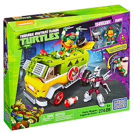 Mega Bloks Teenage Mutant Ninja Turtles Party Wagon Blocks and Bricks