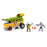Mega Bloks Teenage Mutant Ninja Turtles Party Wagon screen shot 2