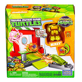 Mega Bloks Teenage Mutant Ninja Turtles Half-Shell Heroes Pizzeria Hideout Blocks and Bricks