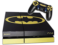 PS4 Skin EXCLUSIVE Original BATMAN Logo with 2 Controller Skins Playstation 4 screen shot 1