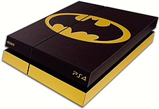 PS4 Skin EXCLUSIVE Original BATMAN Logo with 2 Controller Skins Playstation 4 screen shot 2