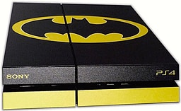 PS4 Skin EXCLUSIVE Original BATMAN Logo with 2 Controller Skins Playstation 4 screen shot 3