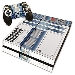PS4 Skin Star Wars R2D2 Skin with 2 Controller Skins Playstation 4 PS4