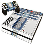 PS4 Skin Star Wars R2D2 Skin with 2 Controller Skins Playstation 4 screen shot 1