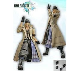 Final Fantasy Xiii Play Arts Snow Figure Scaled Models