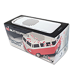 Official VW Camper Van Bluetooth Wireless Music Speaker - Red screen shot 4