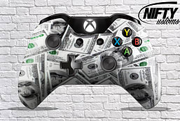 100 Dollar Bills Xbox One Controller XBOX ONE