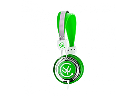 Urbanz ZIP Lightweight Stereo Kids Headphones - Green Audio