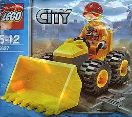 LEGO City: Mini Bulldozer Blocks and Bricks