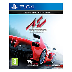 Assetto Corsa Prestige Edition PlayStation 4 Cover Art