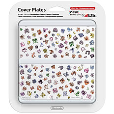 Pokémon 20th Anniversary New 3DS Cover Plates 3DS