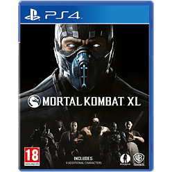 Mortal Kombat XL PlayStation 4 Cover Art