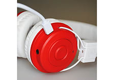Urbanz DESIRE Kids Childrens Wireless Bluetooth Headphones for iPad, iPhone Android iOS - Red screen shot 1