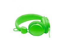 NEON Lightweight Stereo Headphones for iPhone iPod MP3 Smartphone - Green screen shot 3
