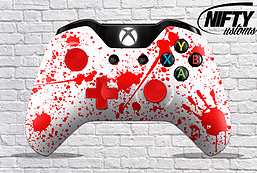 Blood Splatter Xbox One Controller XBOX ONE