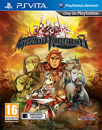 Grand Kingdom PS Vita Cover Art