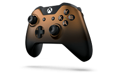 Xbox One Wireless Controller Official Copper Shadow screen shot 1